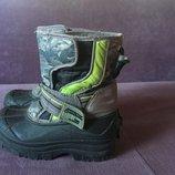 Зимние ботинки , сапожки Next стелька 16,5 см