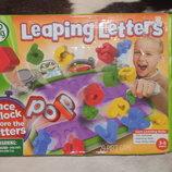 Скидка отличная обучающая развивающая настольная игра Leaping Letters Lear Frog оригинал