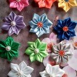 Цветочки на резиночке