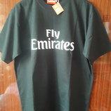 Новая черная футболка от Эмиратских авиалиний размер Л-Хл