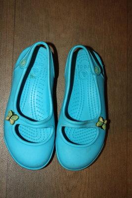 Кроксы-Балетки ф.Crocs оригинал р-12,С в отличном состоянии