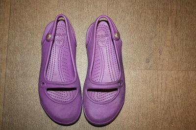 Кроксы-Балетки лавандового красивого цвета ф.Crocs оригинал р-13, 30 С