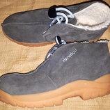 38р-25 см Ripcurlgirl ботинки замша зима