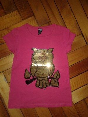 Супер стильная футболка пайетки-перевертыш,девочка 1-8лет,Турция.Разные модели.