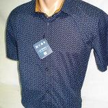 Шведка мужская Enisse тёмно-синяя c коричневым разм.S,M,L,XL