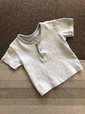 0-3 мес стильная футболка поло из самого мягусенького в мире трикотажного хлопка