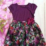 Платье на девочку 5-6 лет Nutmeg