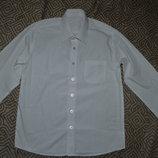 Новая рубашка мальчику George 10-11 лет Англия хлопок рост 140-146