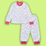 Легкая пижама интерлок трикотаж