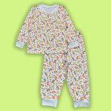 Легкая пижамка интерлок трикотаж