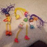 Набор гибких кукол конструтор очень интересная игрушка
