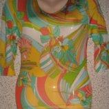 Яркая стильная блузка реглан от Люкс бренда Riani.Оригинал