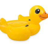 Плотик Утка надувной надувной бассейн для детей интекс