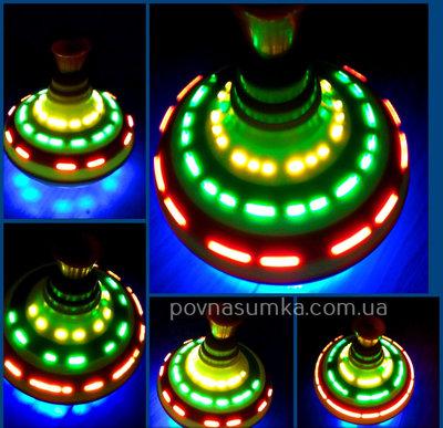 Disco юла,музыка,свет,меняет изображение, юла,музыкальные игрушки
