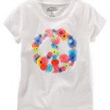 Новая футболка для девочки OshKosh 8 лет