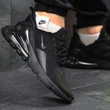 Бесплатная доставка. Качество топ. Кроссовки Nike Air Max Z270 черные KS 317