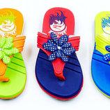 Пляжные детские шлепанцы для девочки Kito 4003 сланцы пляжные размер 31-35