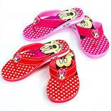 Пляжные детские шлепанцы для девочки Miki 0351 сланцы пляжные размер 30-35