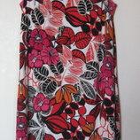 Яркое летнее платье в цветах F&F