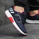 Кроссовки мужские сетка Adidas Climacool M dark blue/red