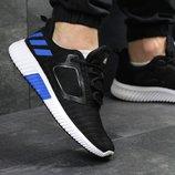 Кроссовки мужские сетка Adidas Climacool M black/blue