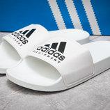 Шлепанцы мужские Adidas FlipFlops, белые