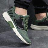 Кроссовки мужские сетка Adidas Climacool M dark green