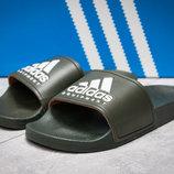 Шлепанцы мужские Adidas FlipFlops, хаки