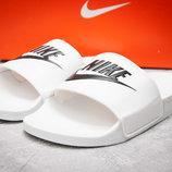Шлепанцы мужские Nike FlipFlops, белые