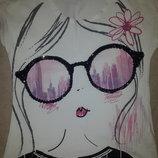 Стильная футболка для вашей принцессы