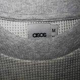 Мужская футболка мягкая фактурная удлиненная Asos M L