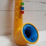 Винтаж Саксофон для запускания мыльных пузырей Fisher Price