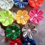 Цветочек на резинке