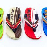 Пляжные детские шлепанцы для мальчиков KITO 9275 сланцы пляжные размер 32-35