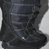Термо сапоги ботинки Elefanten-tex 26р. кожа замш шерсть
