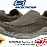 Кроссовки SKECHERS® Superior 2.0 - Vorado Classic Fit Moccasin original из USA 65195