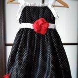 Платье Сарафан горошек