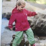 Детская куртка дождевик Impidimpi на девочку 6-8 лет 122-128
