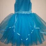 Пышное нарядное выпускное платье Лилия цвет любой