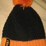 яскрава тепла шапка помпон Coop
