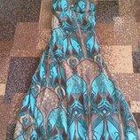 Летнее платье-сарафан, размер 44-46