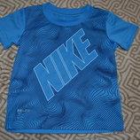 новая термо футболка мальчику Nike dri fit на 2 года рост 92 оригинал