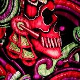 Эксклюзивный шелковый палантин от бренда Christian Audigier.Оригинал