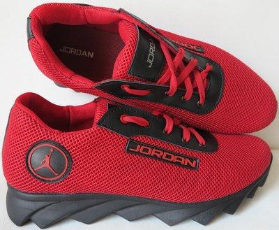 Jordan летние красные с черным мужские или для подростка кроссовки в стиле Джордан сетка кожа