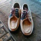 Туфли мужские бежевые
