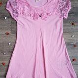 Платье нежно-розовое на рост 116-134