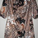 Нарядное яркое платье с рукавами 3/4 New Look