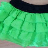 Продам юбку из рюшиков в наличии два цвета