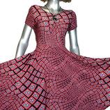 Эффектные платья с пышными юбками.40-52