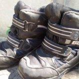 Термо-Ботинки зима на мальчика на переменку 33р на стельку 19,5-20см
